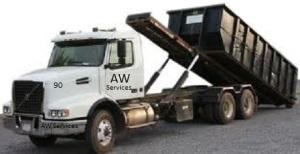 dumpster truck90